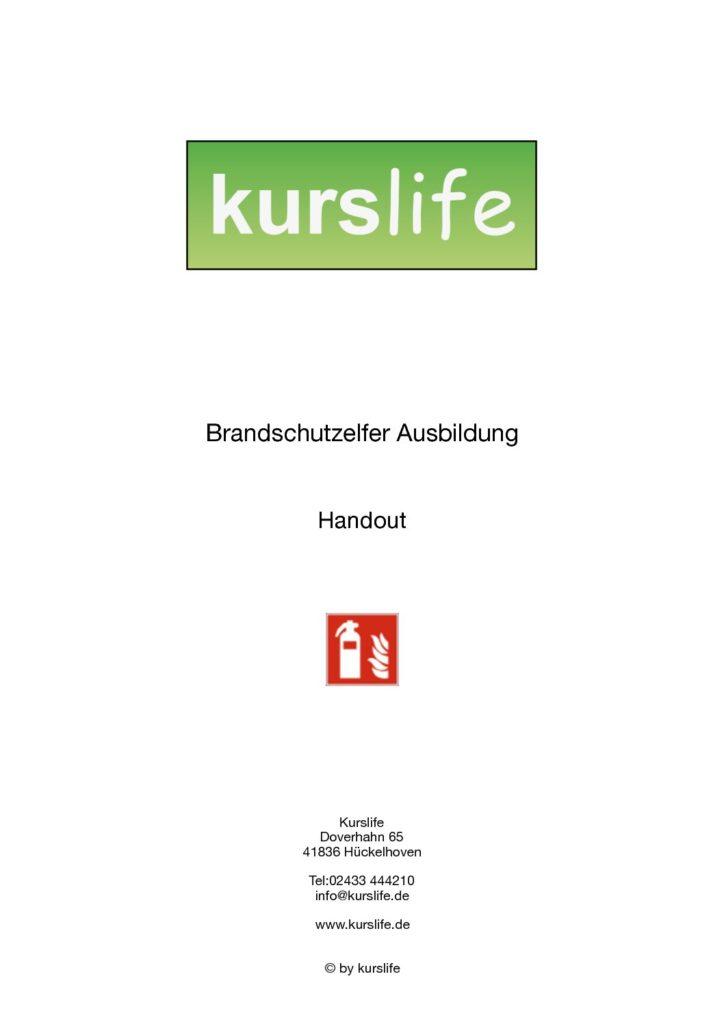 Bestellung brandschutzhelfer